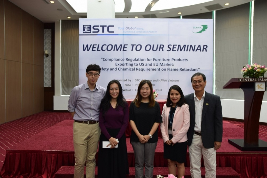 STC Vietnam hosts technical seminar on furniture compliance regulations