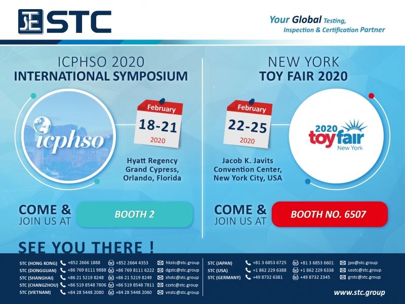 ICPHSO 2020 & New York Toy Fair 2020