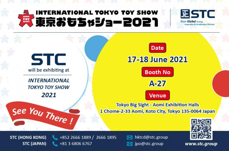 International Tokyo Toy Show 2021